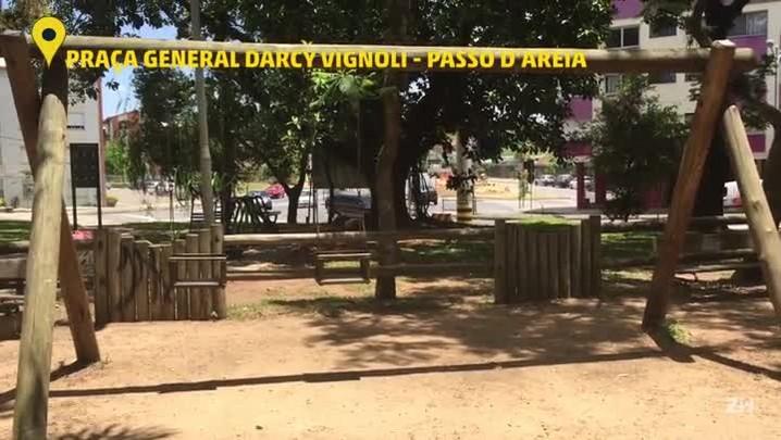 Veja como está a situação da Praça General Darcy Vignoli