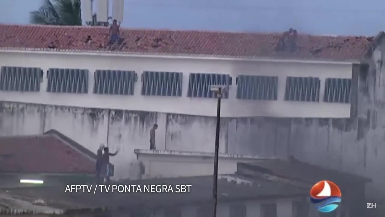 Rebelião deixa quase 30 mortos