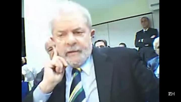 """Em depoimento, Lula diz ser vítima de \""""massacre\"""" e fala sobre pressão por sua prisão"""