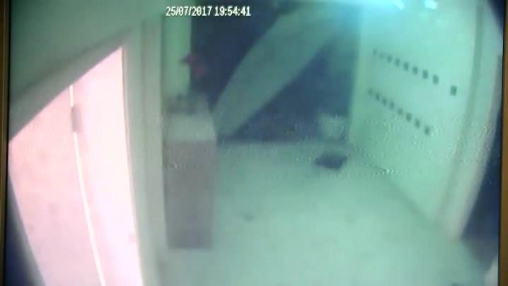 Confira o momento da explosão em apartamento em Joinville
