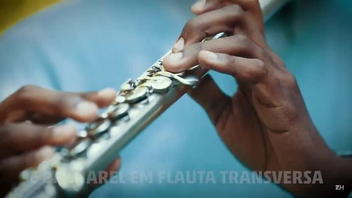 O flautista da Lomba do Pinheiro