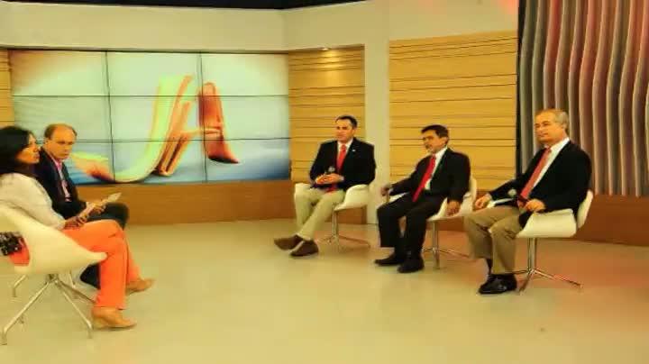 Assista aos bastidores do encontro dos candidatos à presidência do Inter no JA