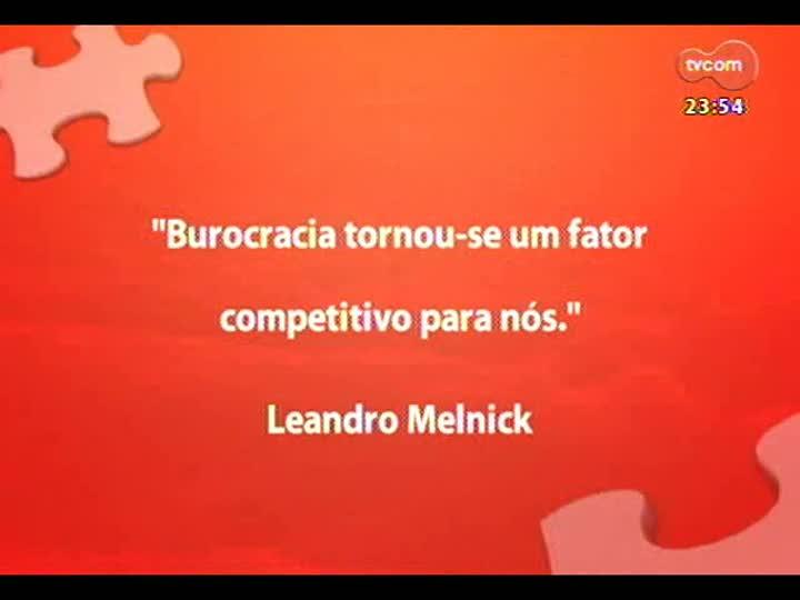 Mãos e Mentes - Leandro Melnick - Bloco 3
