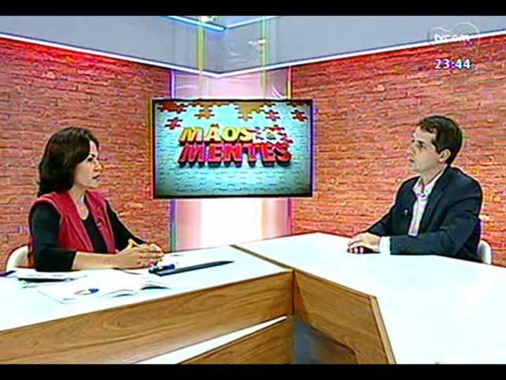 Mãos e Mentes - Diretora presidente da Fapergs, Nádya Pesce Bloco 2 - 21/03/2013