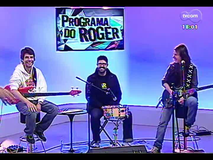 Programa do Roger - Confira a apresentação do trio de Frank Solari - bloco 2 - 20/05/2013