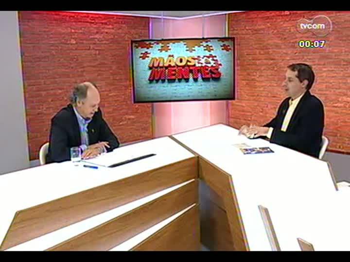 """Mãos e Mentes - Especial \""""1 ano para a Copa\"""": jogador, técnico e comentarista Paulo Roberto Falcão - Bloco 4 - 12/06/2013"""