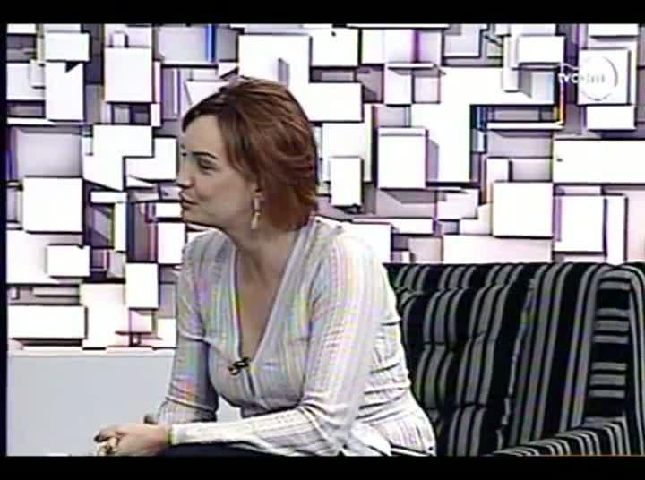 TVCOM Tudo Mais - Estreia do quadro de arquitetura e decoração - 4º Bloco – 15-08-2013
