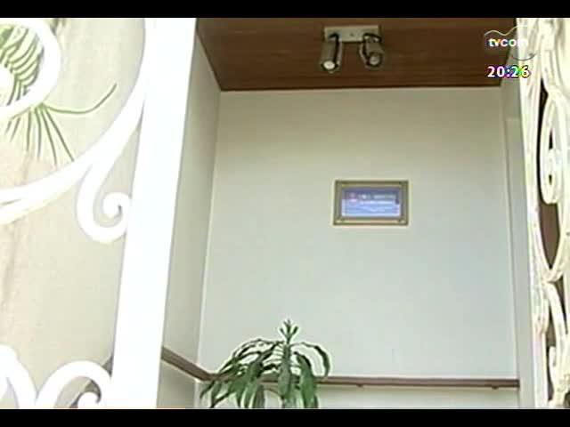 TVCOM 20 Horas - Melhora estado de saúde de jovem vítima de explosão de secador de cabelo - Bloco 3 - 08/11/2013