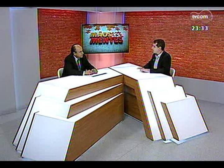 Mãos e Mentes - Promotor de Justiça, responsável pela Operação Leite Compensado, Mauro Rockembach - Bloco 1 - 12/11/2013