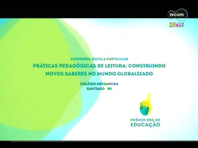 TVCOM Tudo Mais - Conheça o trabalho de uma professora que aproxima crianças das histórias infantis - Prêmio RBS de educação