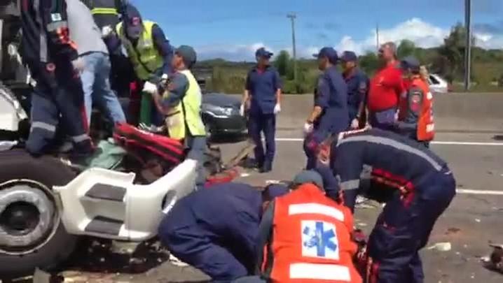 Motorista morre em acidente na BR-101, em Laguna. 20/12/2013