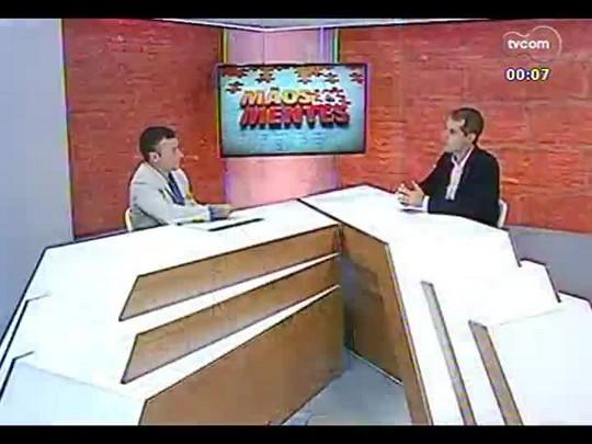 Mãos e Mentes - Sócio-diretor da Japesca Gabriel Mendo da Cunha - Bloco 4 - 20/01/2014