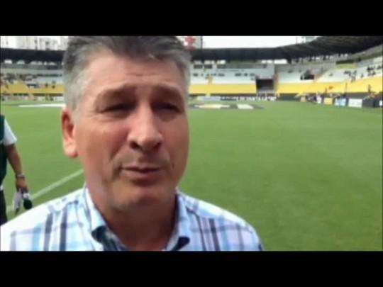 Nereu Martinelli espera vitória como presente para Joinville