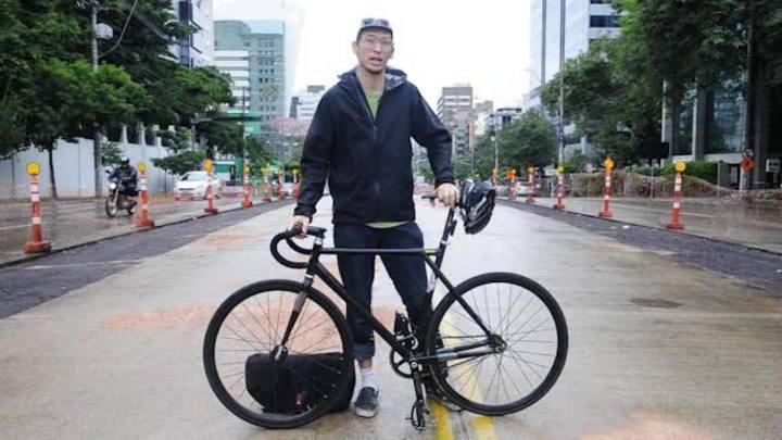 Ciclista dá dicas para andar de bicicleta com segurança