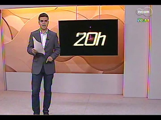 TVCOM 20 Horas - Estádio Olímpico fará parte da Copa do Mundo - Bloco 2 - 01/04/2014