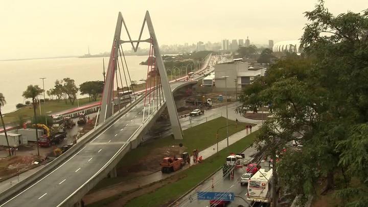 Veja o antes e depois do trânsito no entorno do viaduto José Pinheiro Borda