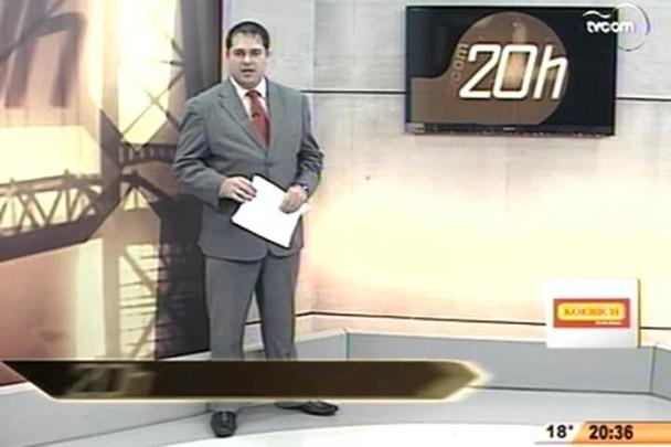 TVCOM 20 Horas - Policiais civis que resgataram menino de sequestro são reconhecidos - 3º Bloco - 10/07/14
