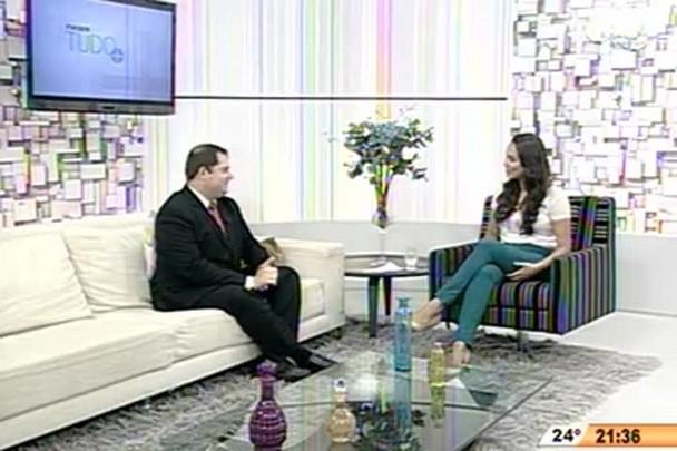 TVCOM Tudo+ - Jornalista Felipe Reis assume comando do Conversas Cruzadas - 1.12.14