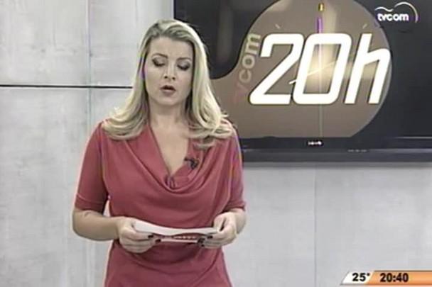 TVCOM 20 Horas - Pesquisas mostram que, quase todo dia, morre um trabalhador exercendo sua função, em SC - 01.05.15