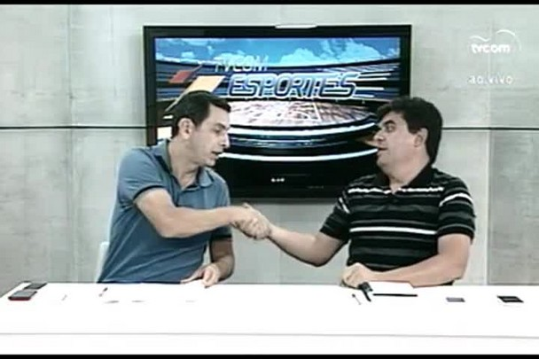 TVCOM Esportes. 1º Bloco. 20.01.16