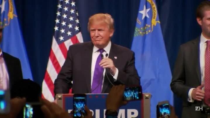 Trump se fortalece com vitória em caucus de Nevada