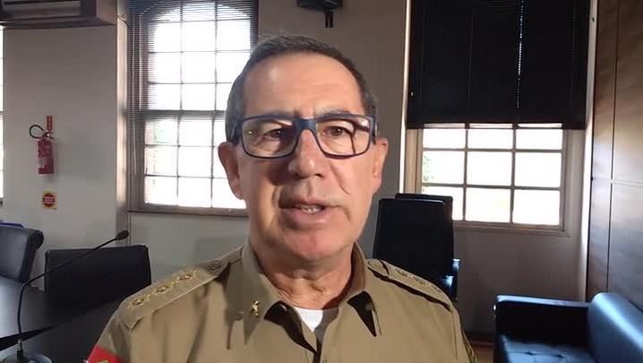 Caso Caldart: nomes não foram divulgados por questão estratégica, diz corregedor da PM