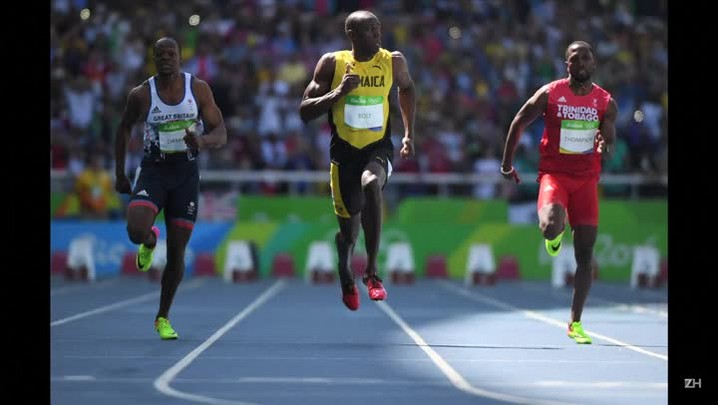 A estreia de Bolt no Rio-2016