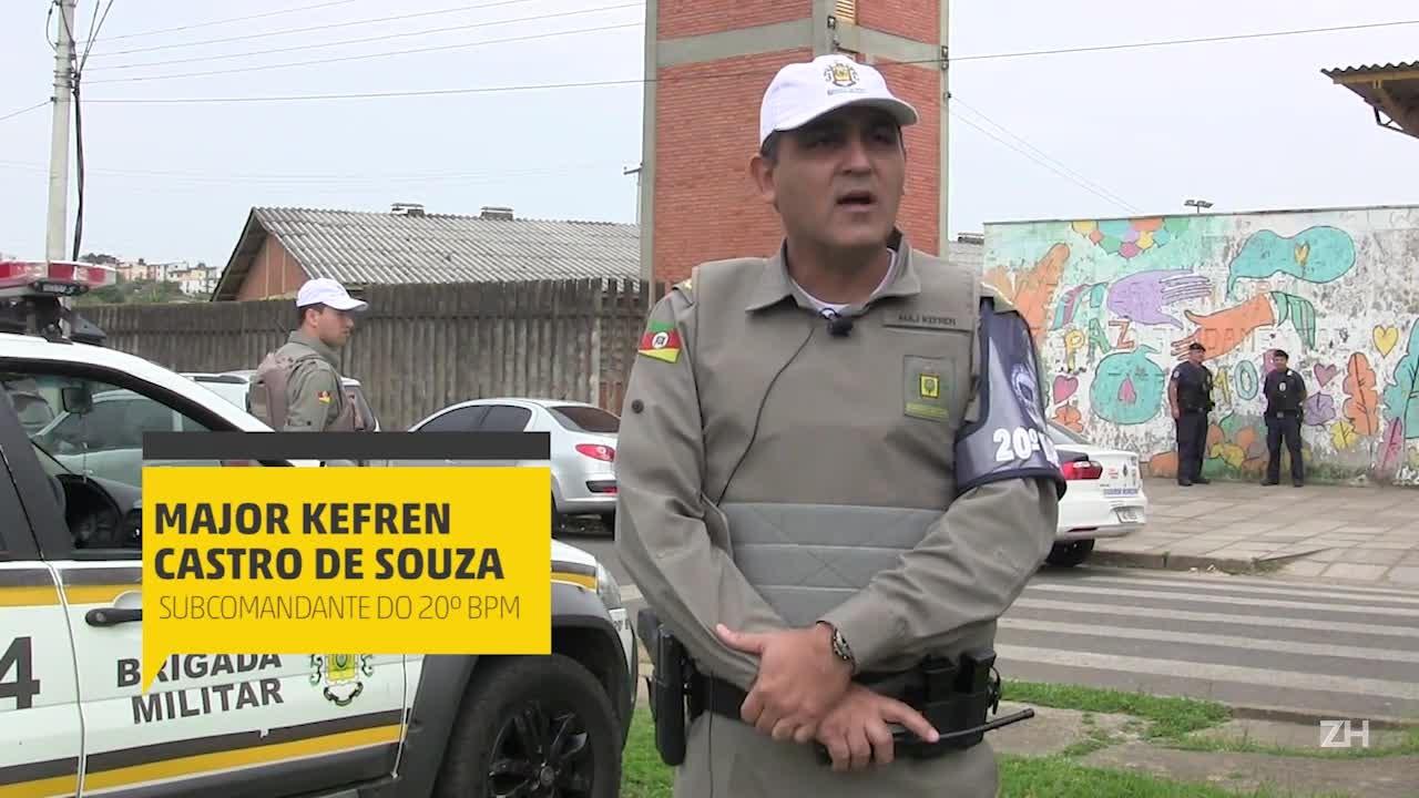 Escolas reabertas após tiroteios no bairro Mario Quintana