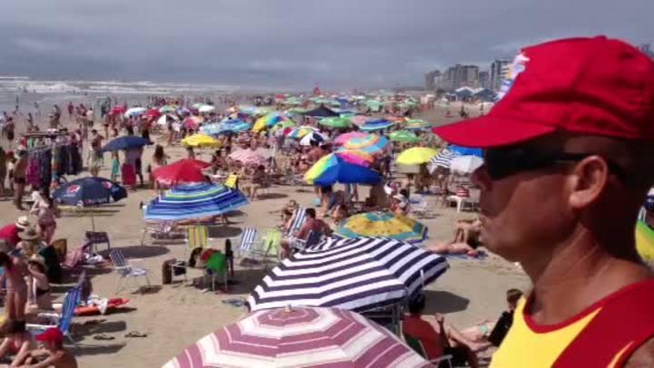 Dia de praia em Capão da Canoa