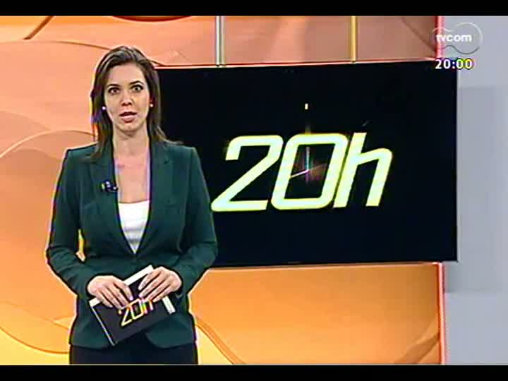 TVCOM 20 Horas - Tragédia em Santa Maria: inquérito policial é entregue à justiça - Bloco 1 - 22/03/2013