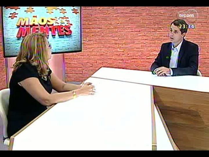 Mãos e Mentes - Diretora executiva do Tecnosinos, Susana Kakuta - Bloco 1 - 04/04/2013