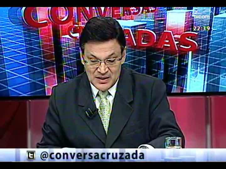 Conversas Cruzadas - Debate sobre o TSE ter alterado número de deputados federais de 13 Estados - Bloco 3 - 10/04/2013