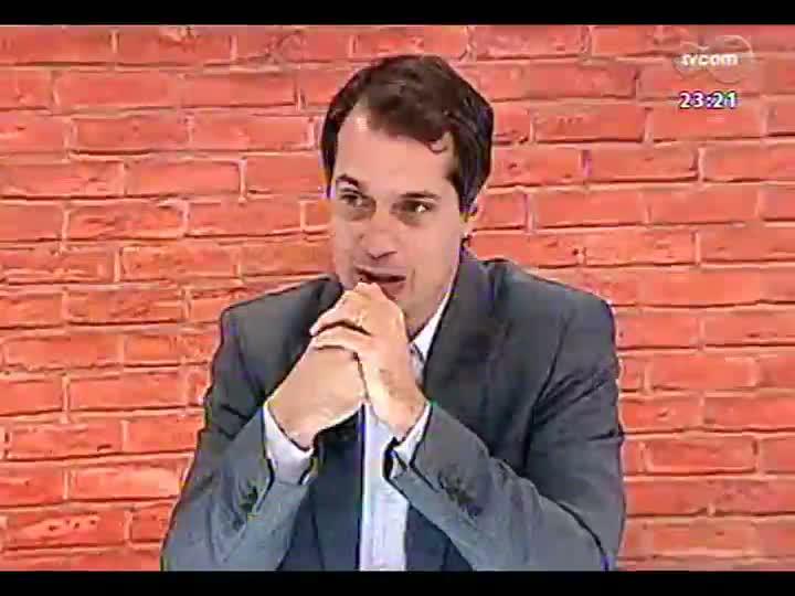 Mãos e Mentes - Doutor em Direito e escritor Ricardo Giuliani Neto - Bloco 3 - 12/05/2013