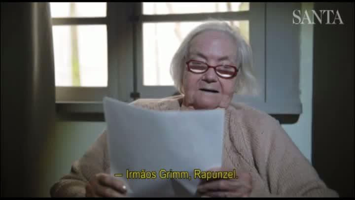 Relembre um trecho da história Rapunzel em alemão