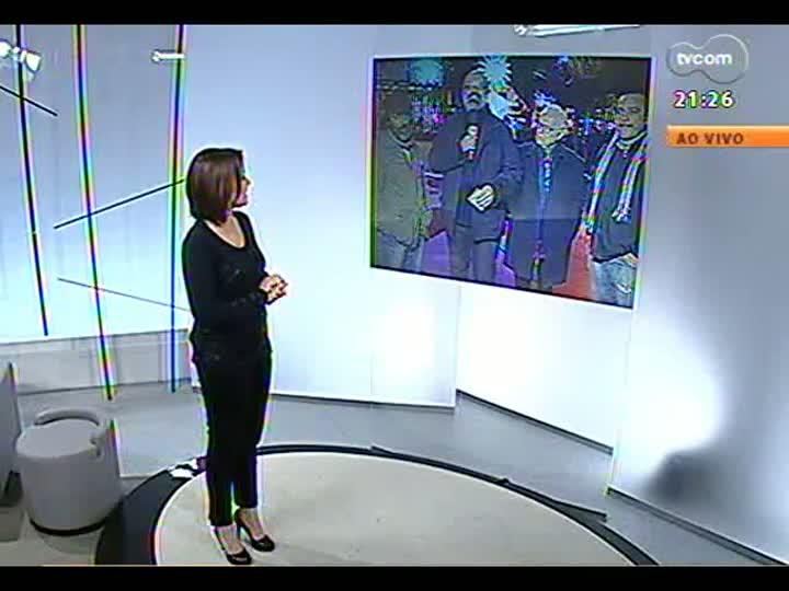 TVCOM Tudo Mais - Roger Lerina conversa com Sara Bodowsky diretamente do Festival de Cinema de Gramado