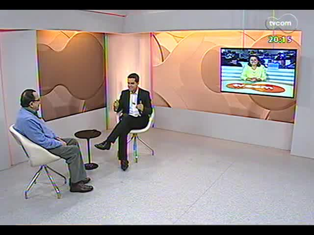 TVCOM 20 Horas - Entrevista com o ex-deputado e fundador do PDT, Carlos Araujo - Bloco 2 - 26/09/2013