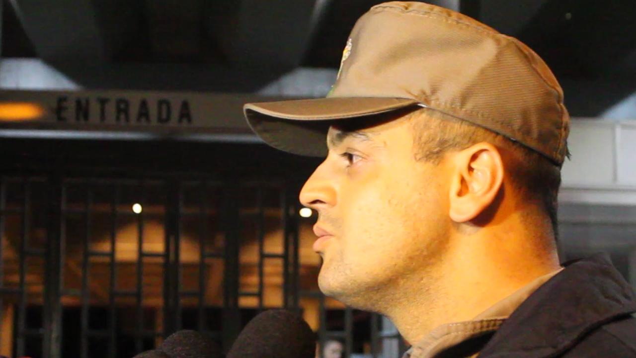 Capitão explica como foi o incêndio na Sogipa