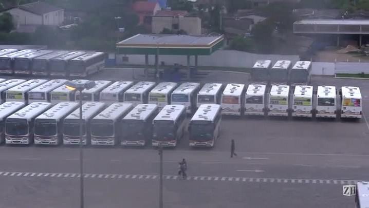 Ônibus do Conorte ficam retidos em garagem de Porto Alegre