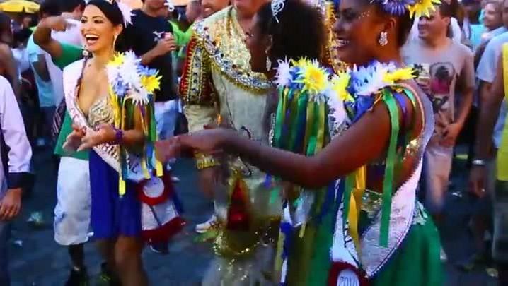 Berbigão do Boca movimentou o centro de Florianópolis sexta-feira