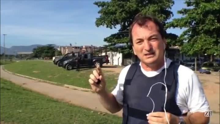 Enviado especial fala sobre ocupação de favela carioca
