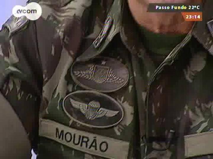 M�os e Mentes - Comandante Militar do Sul general Ant�nio Hamilton Martins Mour�o - Bloco 2 - 24/08/2014