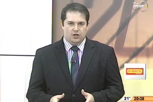 TVCOM 20 Horas - Chegaram ao fim as reuniões comunitárias do Plano diretor de Florianópolis - 3º Bloco - 25/09/14