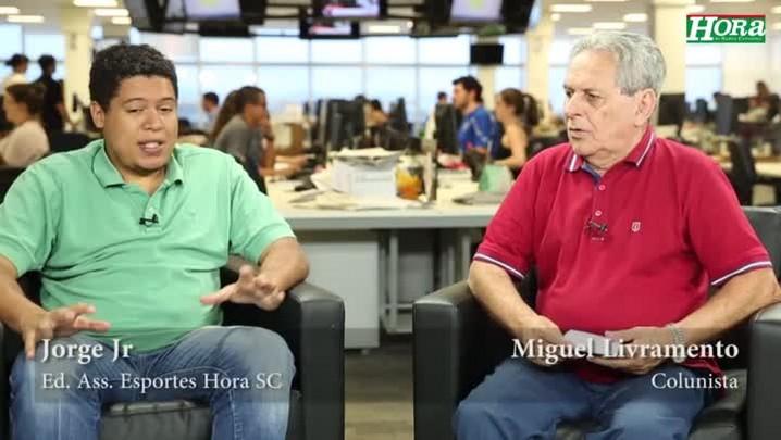 """Miguel Livramento: \""""Giovani Augusto nunca fez um jogo espetacular pelo Figueirense\"""""""