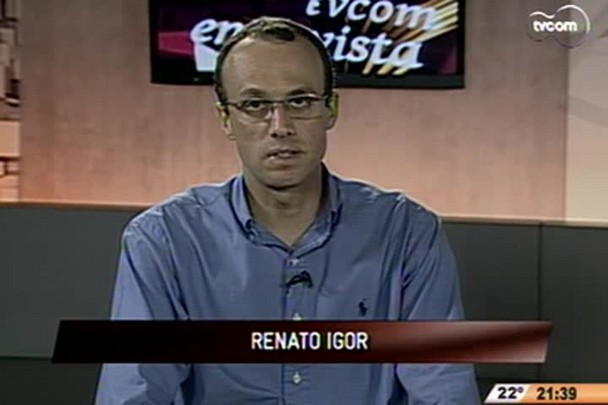 TVCOM Entrevista - Newton da Costa é conhecido como pensador da contradição - 3°Bloco - 14.11.14