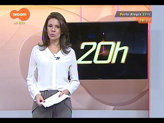 TVCOM 20 Horas - O primeiro dia de limpeza da Boate Kiss - 03/12/2014