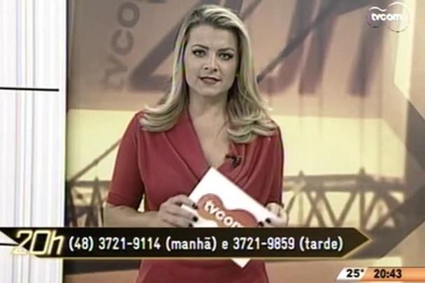 TVCOM 20 Horas - HU precisa com urgência de sangue O negativo e a Maternidade Carmela Dutra precisa de doadoras de leite materno - 01.05.15