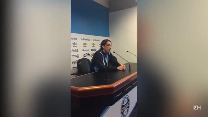 """Geromel comenta retorno de Bressan: \""""Estamos abertos a jogadores de qualidade, o Grêmio só tem a ganhar\"""""""
