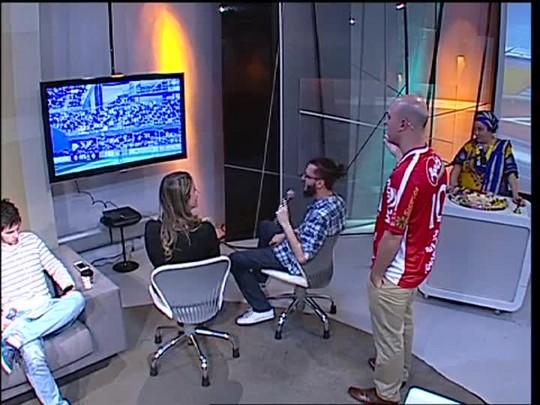 Super TVCOM Esportes - Jogamos FIFA16! 11/09/15