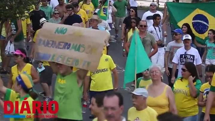 Saiba o que os moradores da periferia de Santa Maria acham sobre os protestos de domingo