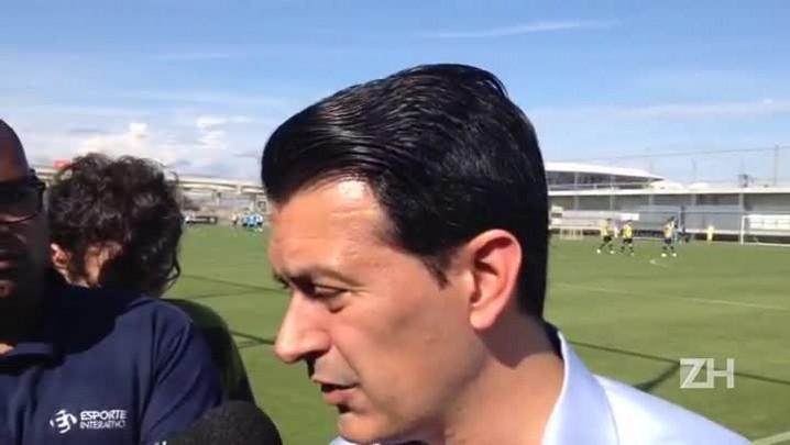 Rui Costa explica ausência de Erazo
